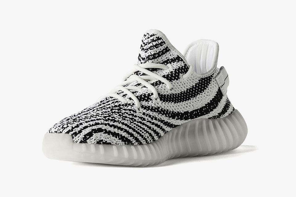 adidas x YEEZY BOOST 350 V2 Zebra får ett officiellt