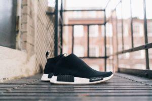 United Arrows & Sons x adidas NMD City Sock Black