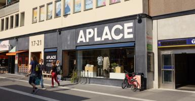 Aplace nya second hand-butik