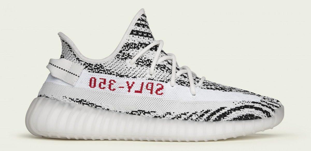 "adidas YEEZY BOOST 350 V2 ""Zebra"" släpps igen"