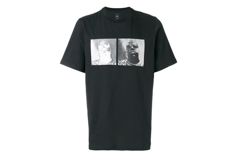 OAMC släpper Tupac Shakur & Notorious B.I.G t shirts   Dopest