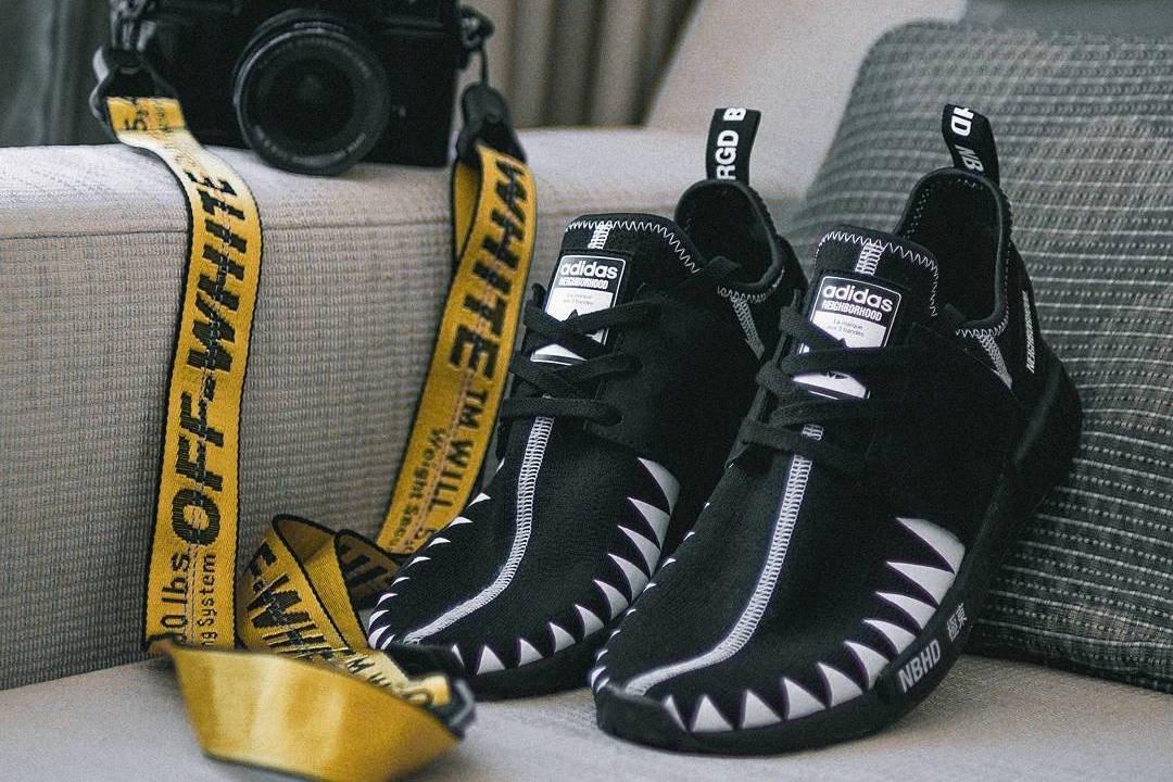 INVINCIBLE x NEIGHBORHOOD x adidas NMD R1 Shoe   HYPEBEAST