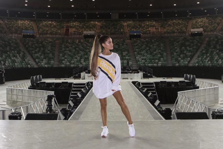 Ariana Grande Reebok Partner