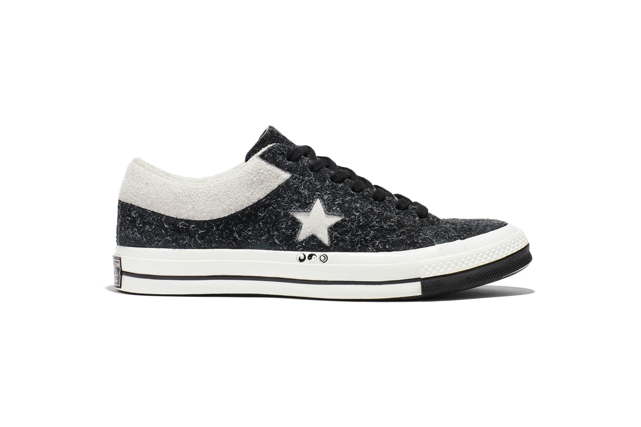 2081ec7fda30 Spana in Converse x CLOT One Star 74