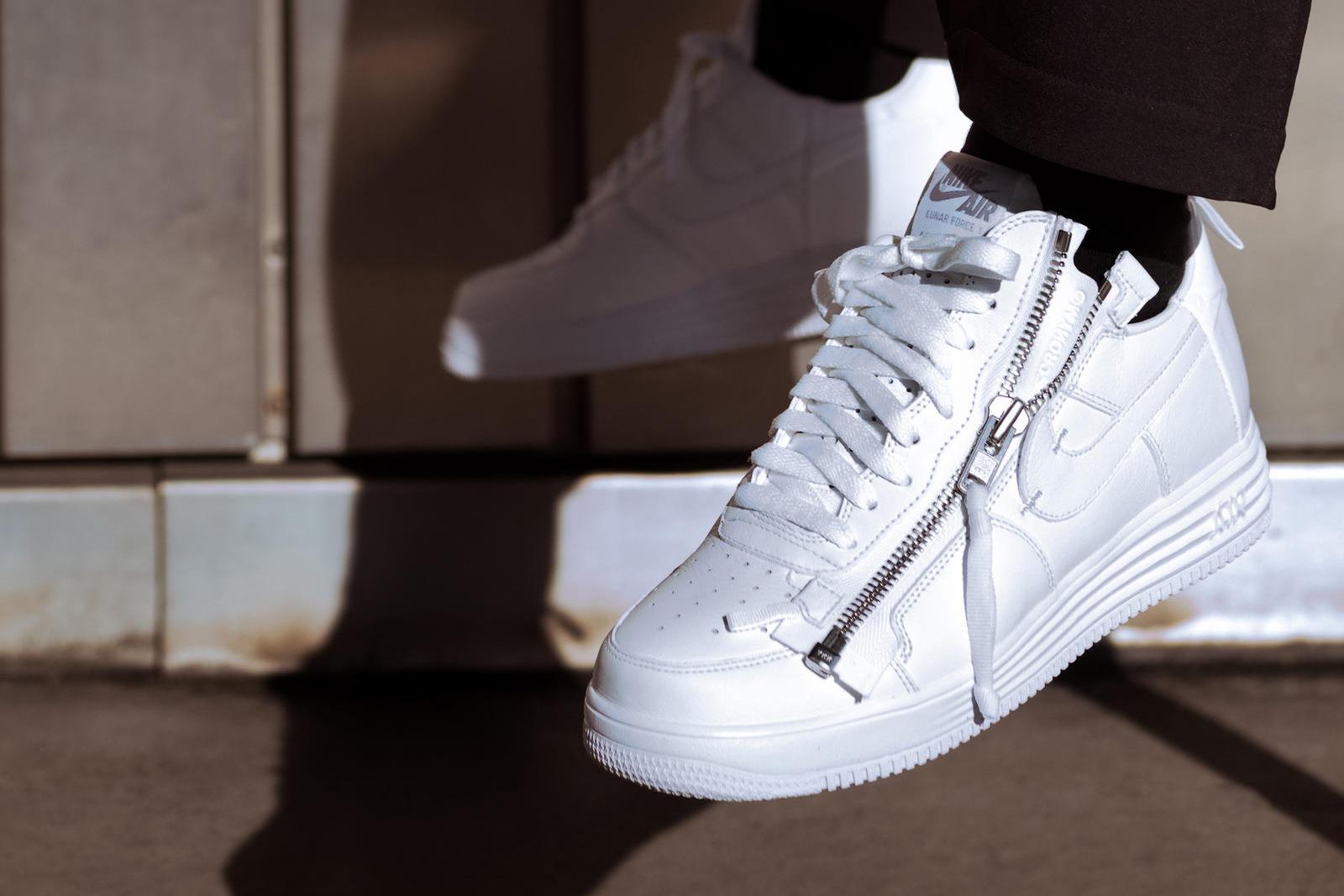 Nike visar upp Air Force 1 samarbeten med Travis Scott