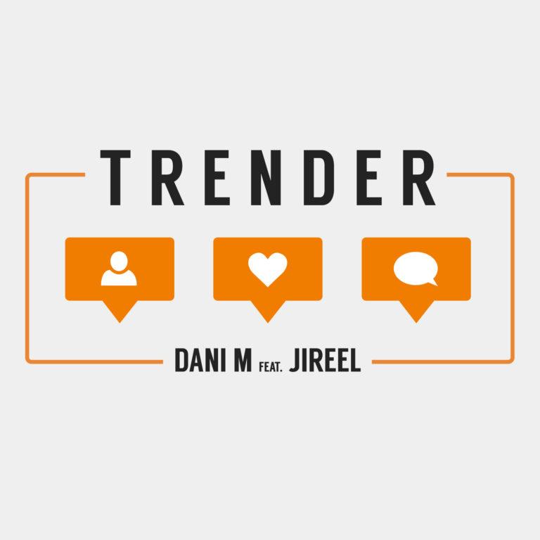 Dani M Jireel Trender Låt Singel Spotify Nivy Redline