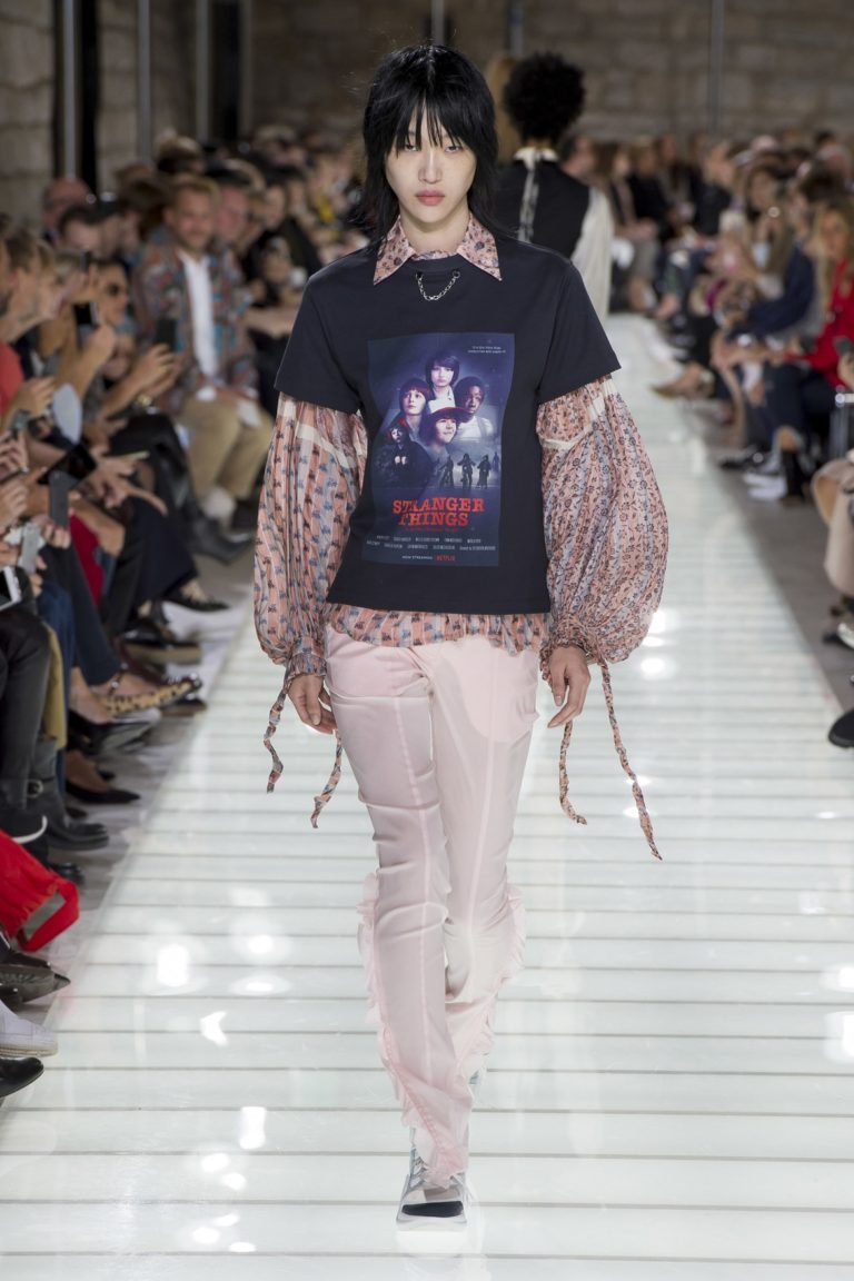 Stranger Things Louis Vuitton t-shirt