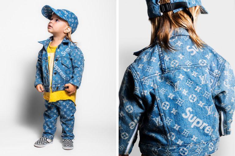 Supreme Louis Vuitton Kids Denim