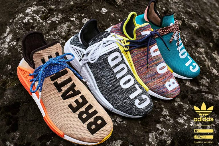 Pharrell adidas Originals Human Race Hu NMD Trail Hiking