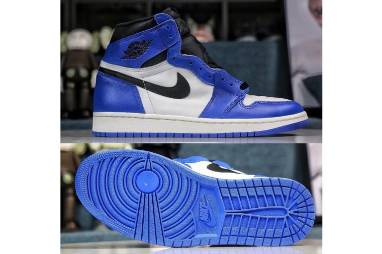 "Air Jordan 1 ""Game Royal"" Jordan Brand Nike"