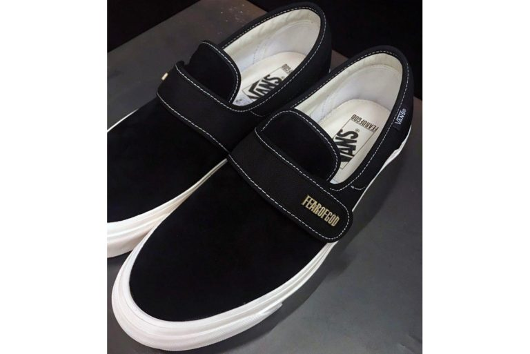 Fear of God x Vans Slip on Style 147