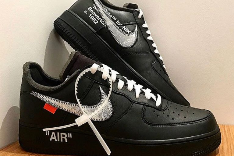 Nike Virgil Abloh Nike Air Force 1 Black Moma Off-White