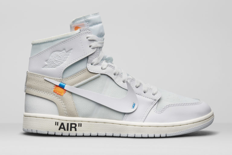 "Off-White x Nike The Ten Air Jordan 1 ""White"" Virgil Abloh"