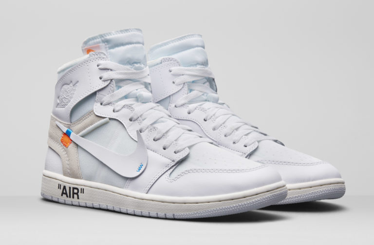 "Off-White x Nike The Ten Air Jordan 1 ""White"" Virgil Abloh"