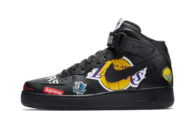 Supreme x Nike Air Force NBA Mid