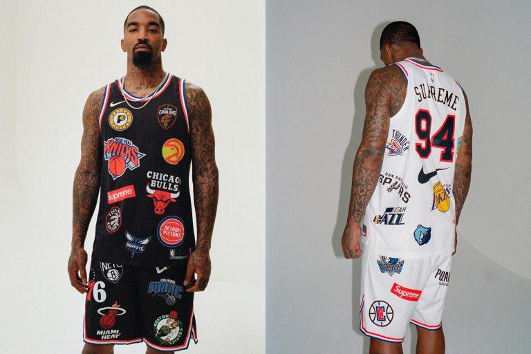 Supreme x NBA Nike Jersey