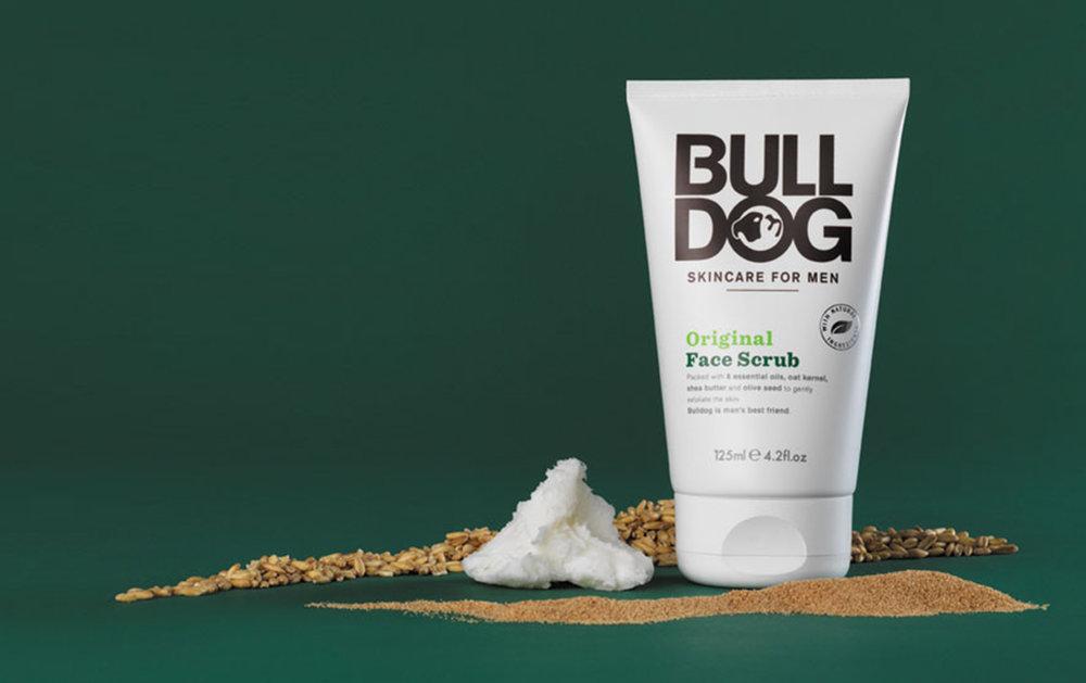 bulldog, skincare, hudvård, ansiktstvätt