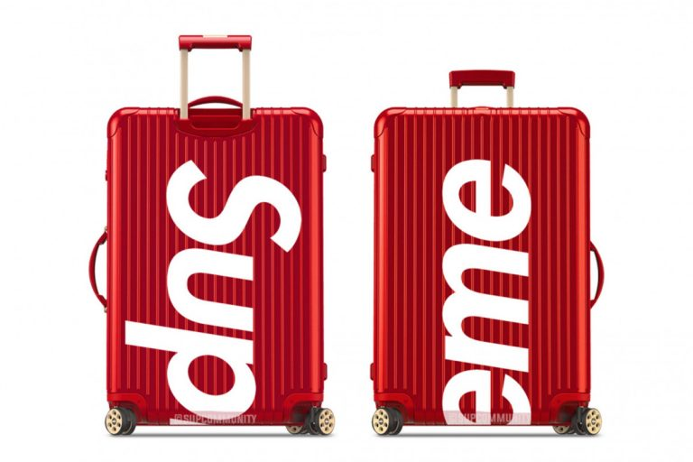 Supreme RIMOW LVMH luggage collab
