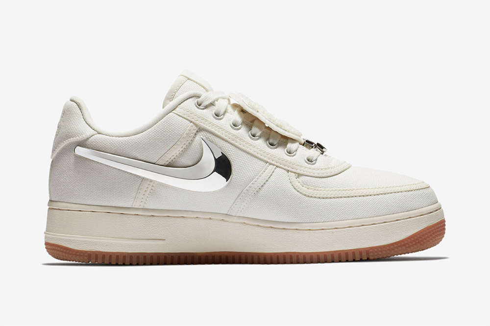 Nike Air Force 1 Low Travis Scott Sail