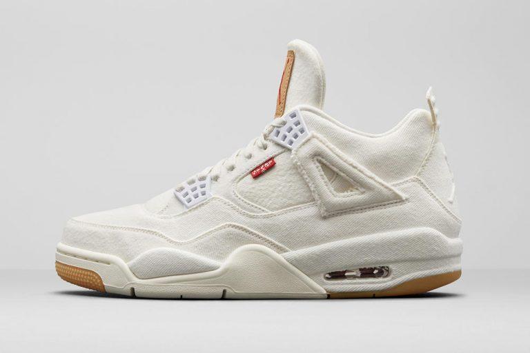Air Jordan 4 x Levi's Sneakersnstuff Jordan Brand Jumpman