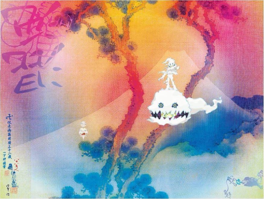 Kids see Ghosts albumomslag