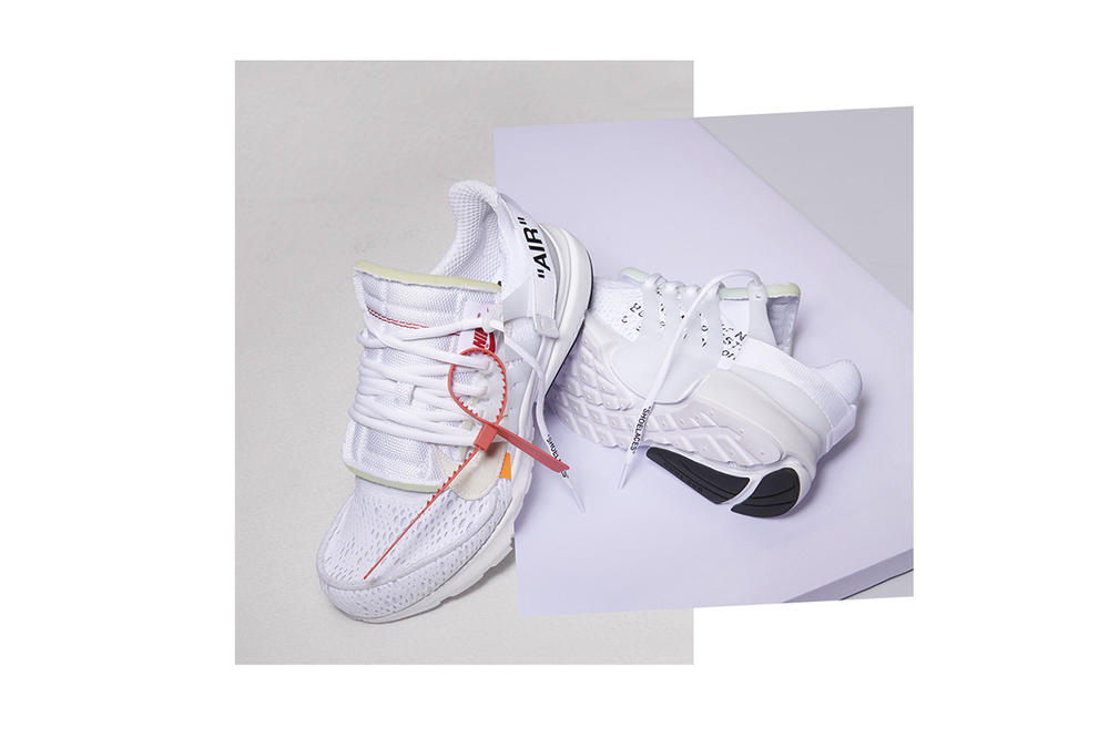brand new fec72 03a17 De vita   svarta Off-White x Nike Air Prestos har fått releasedatum   Dopest