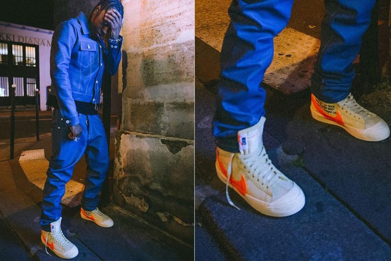 Off-White x Nike Blazer 2018 Paris Fashion Week