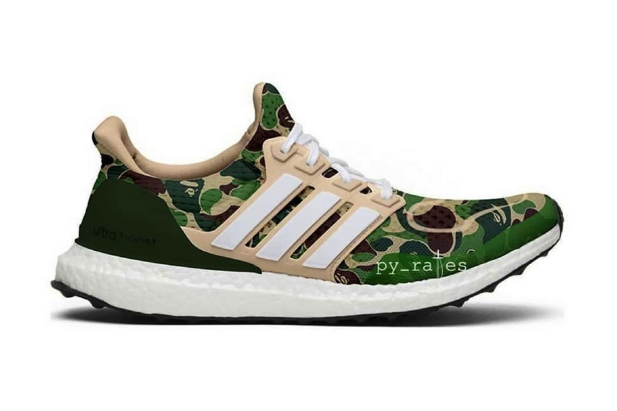 Ny adidas x BAPE UltraBoost sneaker släpps?   Dopest