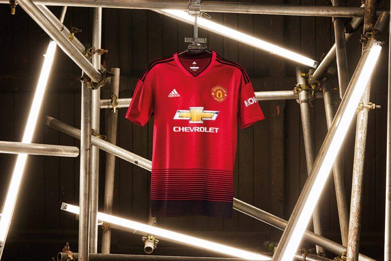 Manchester Uniteds nya hemmatröja