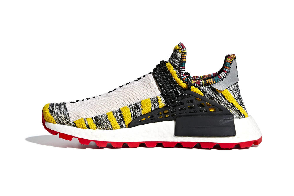 Pharrell Williams x adidas Originals Hu NMD Trail SOLARHU GrayYellow