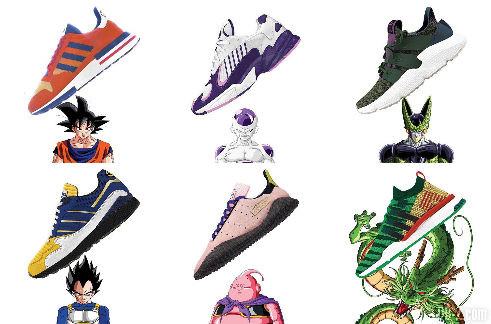 adidas bekräftar 'Dragon Ball Z' samarbetet | Dopest