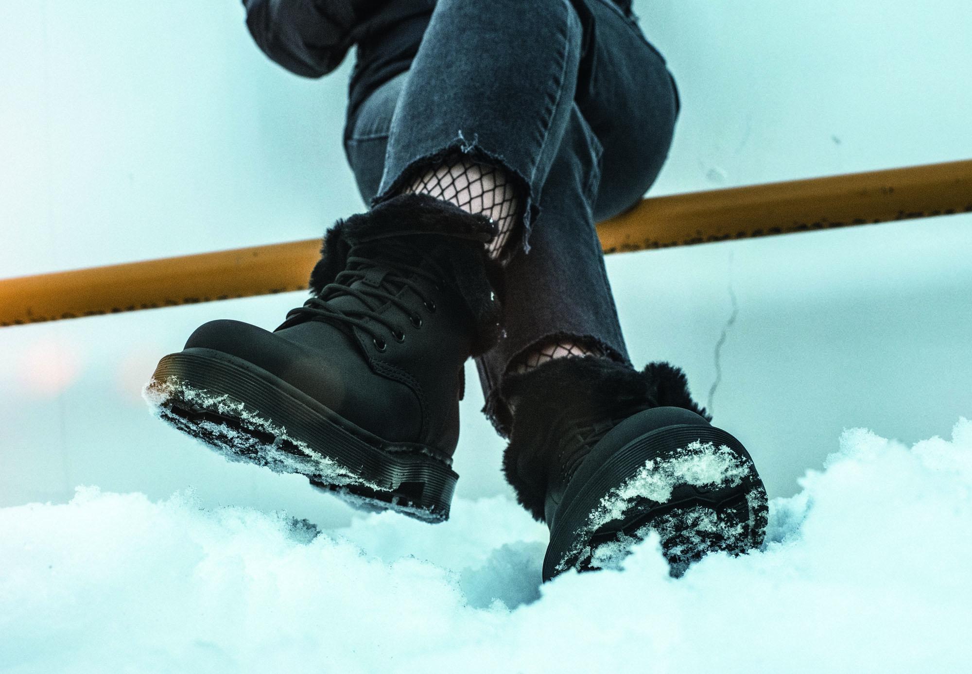 Dr. Martens för skandinavisk vinter. Wintergrip ska tåla