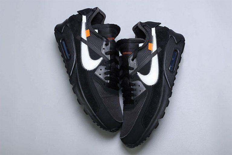 """premium selection 7fe6c 16ed9 Se bilder på kommande Off-White x Nike Air Max 90 """"Black"""""""