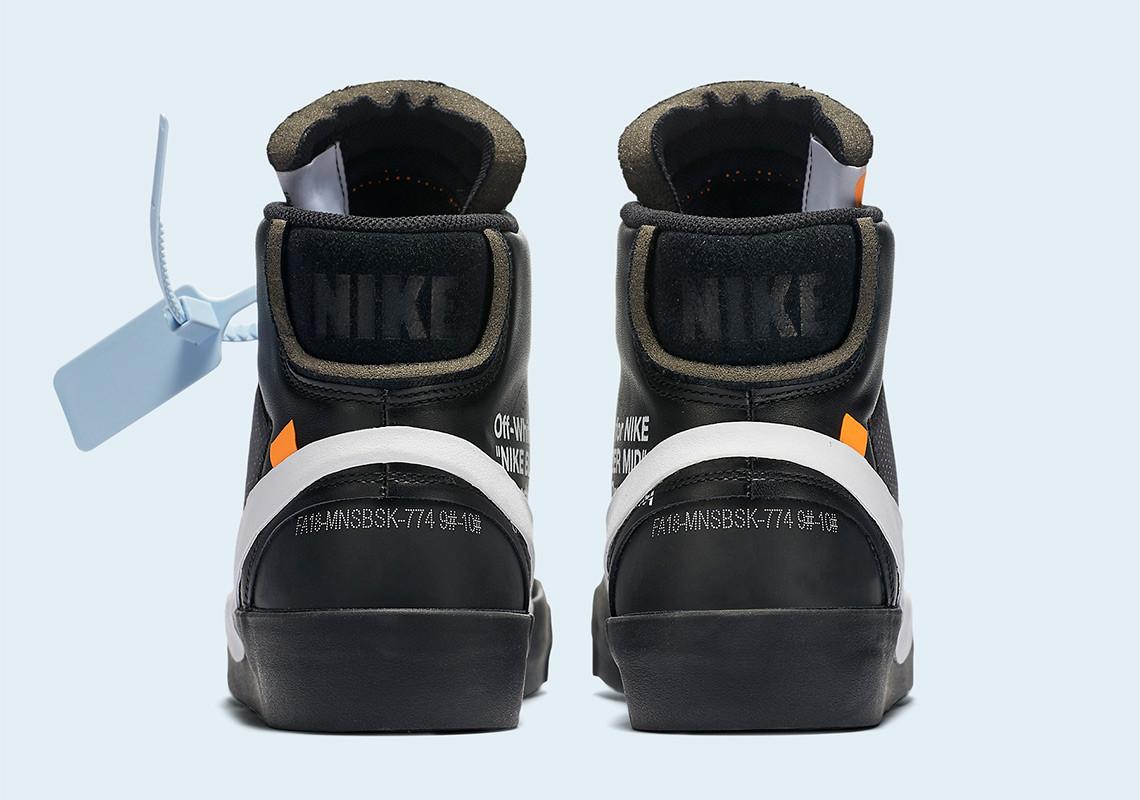 The Ten: Off White x Nike Blazer Mid Skor Sverige Online