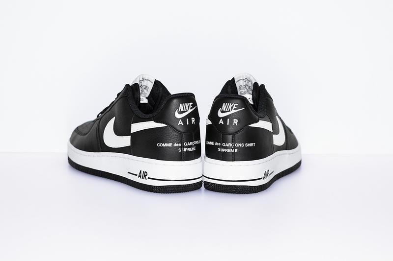 7bdcf6d43bc0 Här får du tag på Supreme x COMME des GARÇONS Nike Air Force 1 | Dopest
