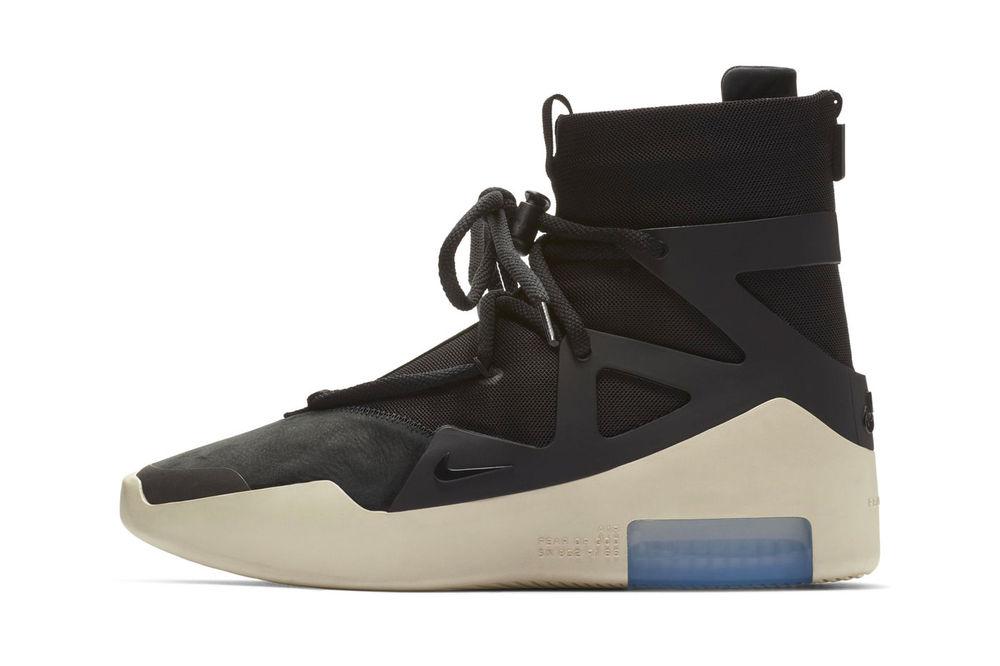 Nike Air Fear Of God 1 Black