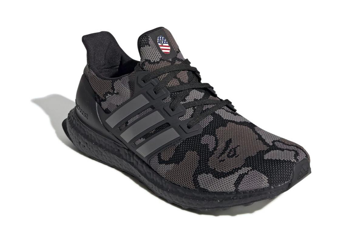 Spana in de officiella bilderna på kommande BAPE x adidas