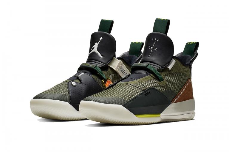 separation shoes b8555 baa7f Spana in de nya bilderna på kommande Travis Scott x Air Jordan 33 NRG
