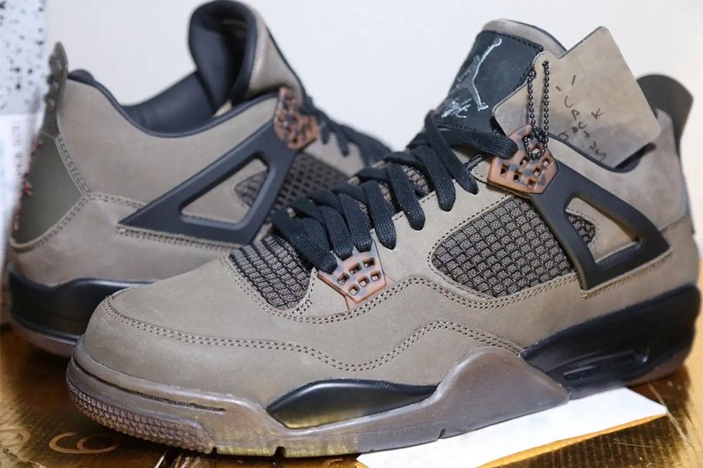 Jordan Nike x Travis Scott Air Jordan 4 Retro Sneakers