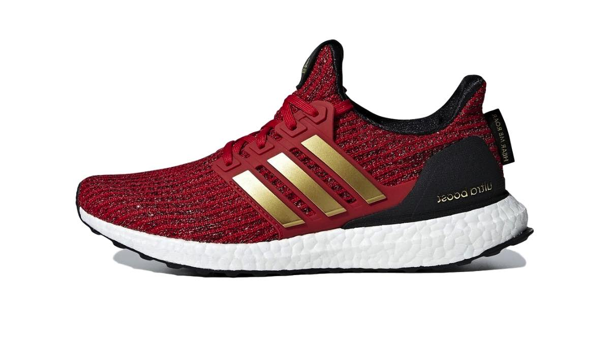 """Game of Thrones x adidas Ultra Boost 4.0 """"Lannister""""   Dopest"""