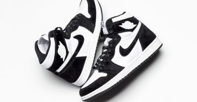 "finest selection 8ed9d f591c Spana in Air Jordan 1 ""Panda"""