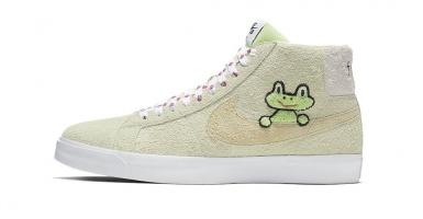 outlet store 5bdef bea67 Frog Skateboards x Nike SB Blazer Mid QS släpps i helgen