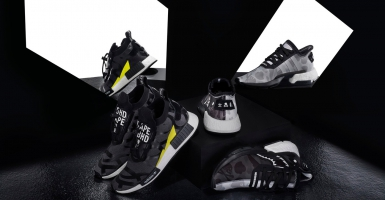"finest selection f3260 2f010 BAPE x NEIGHBORHOOD x adidas Originals ""POD S-3.1""   ""NMD STLT"" släpps  denna månad"