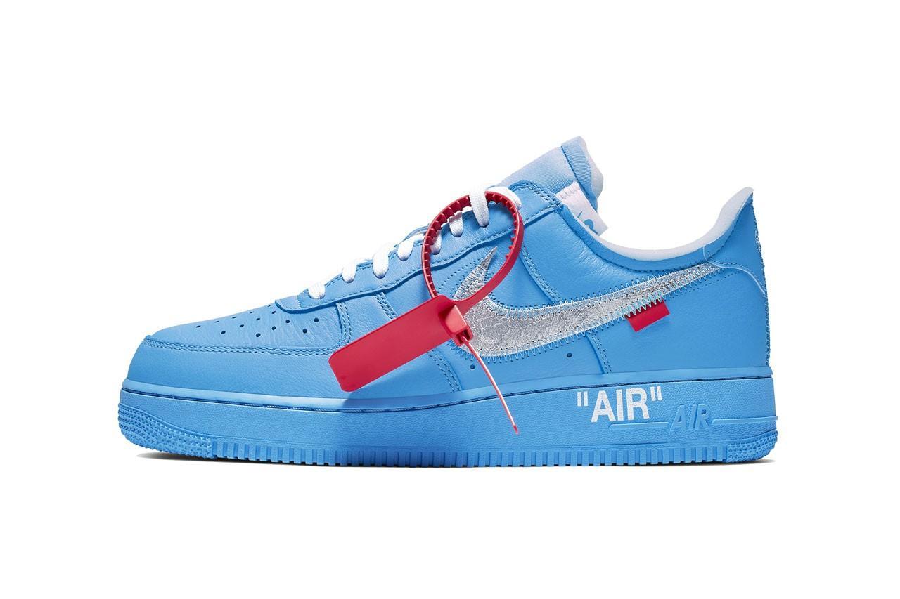 Off White x MCA Chicago x Nike Air Force 1 '07 har fått ett