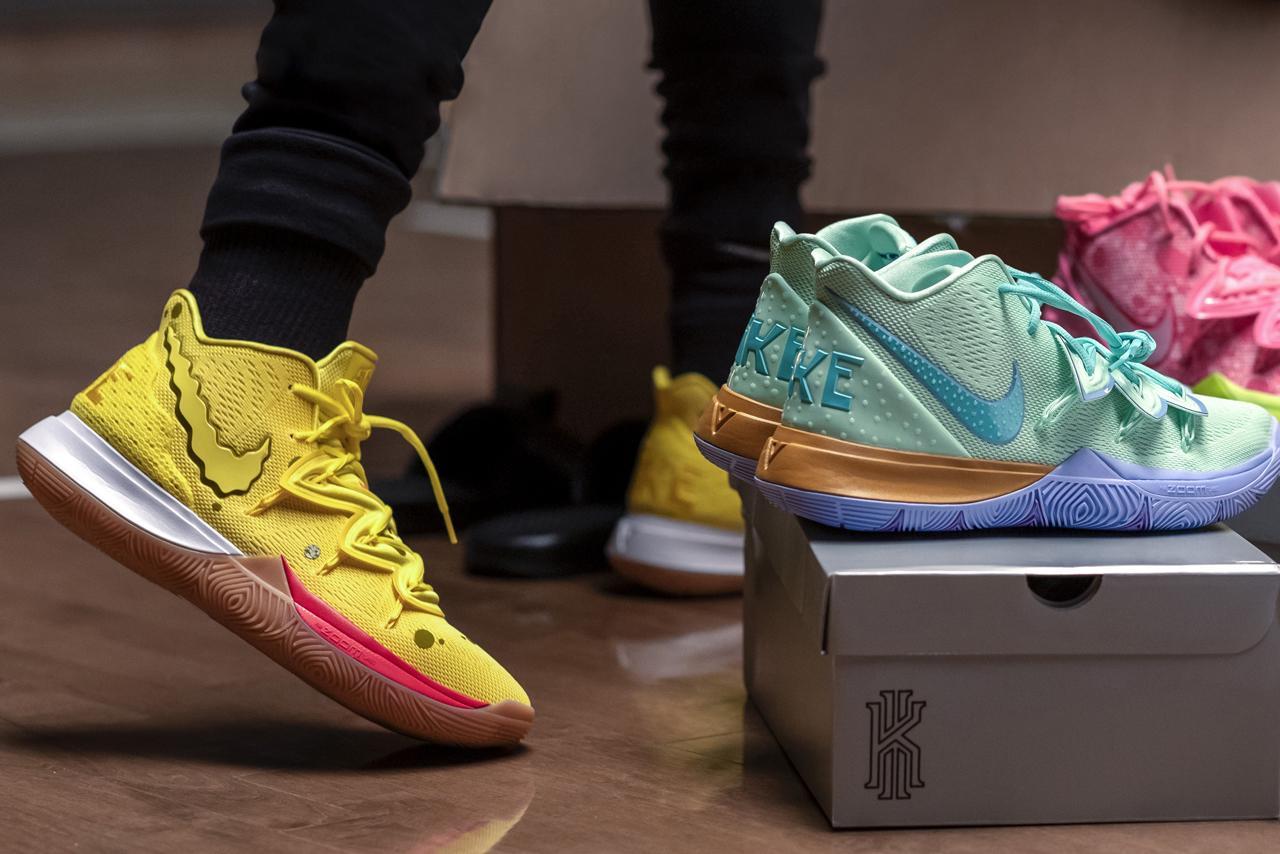 Kyrie Irving & Nike släpper 'Spongebob Squarepants