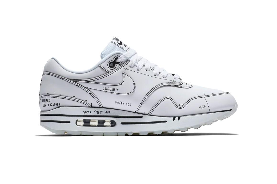Nike Air Max 1 Sketch To Shelf White Tinker Hatfield CJ4286
