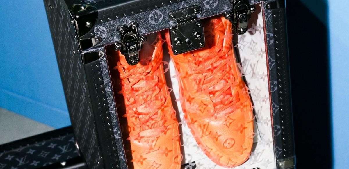 Louis Vuitton lanserar koffert för sneakers & skobox