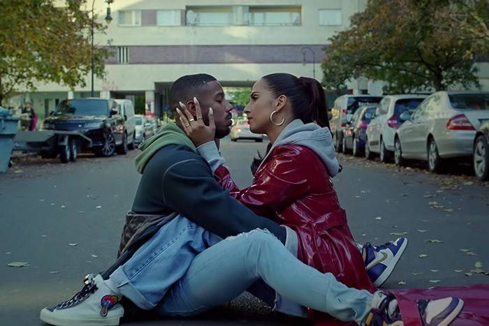 "Snoh Aalegra & Michael B Jordan i video till ""Woah"""