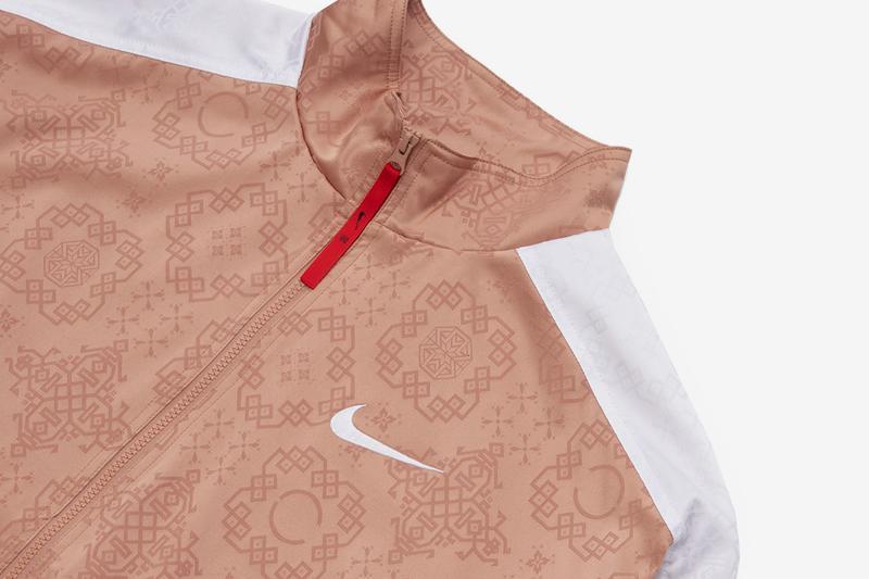 "CLOT x Nike släpper en ""Rose Gold Silk"" tracksuit"