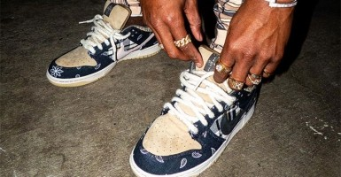 Buy Graffiti Nike Air Force 1 Golden Leather Champion Trophy Online